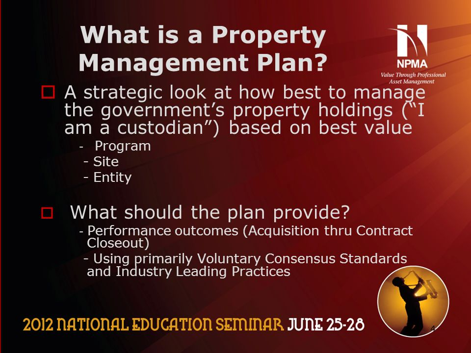 11 Basic Property Management- Government Part II Meeting the needs ...