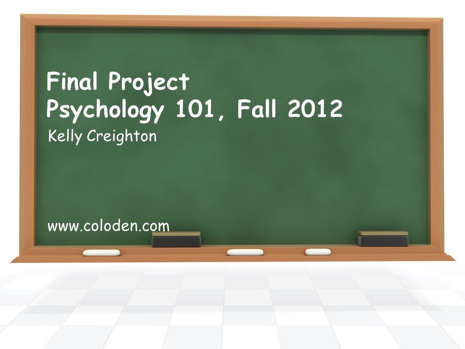 psychology 101 final