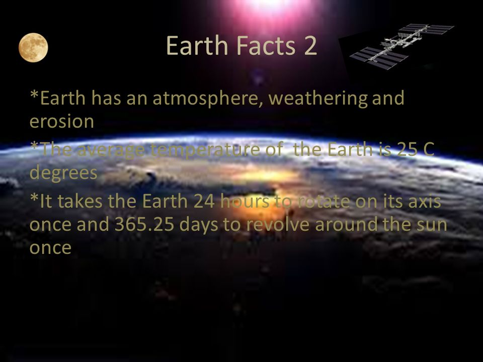 6 Earth Facts 2