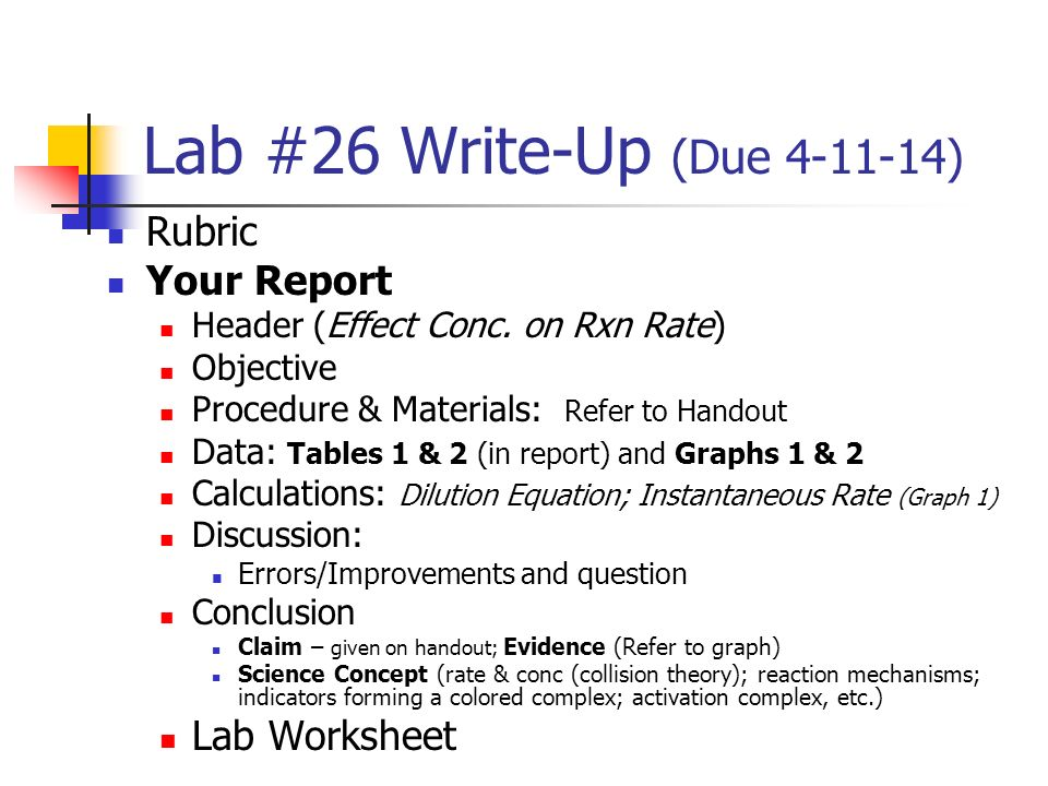 Lab 30 Activity Due Rubric Worksheet Redox Reaction Plete. Worksheet. Reaction Mechanisms And Collision Theory Worksheet At Clickcart.co
