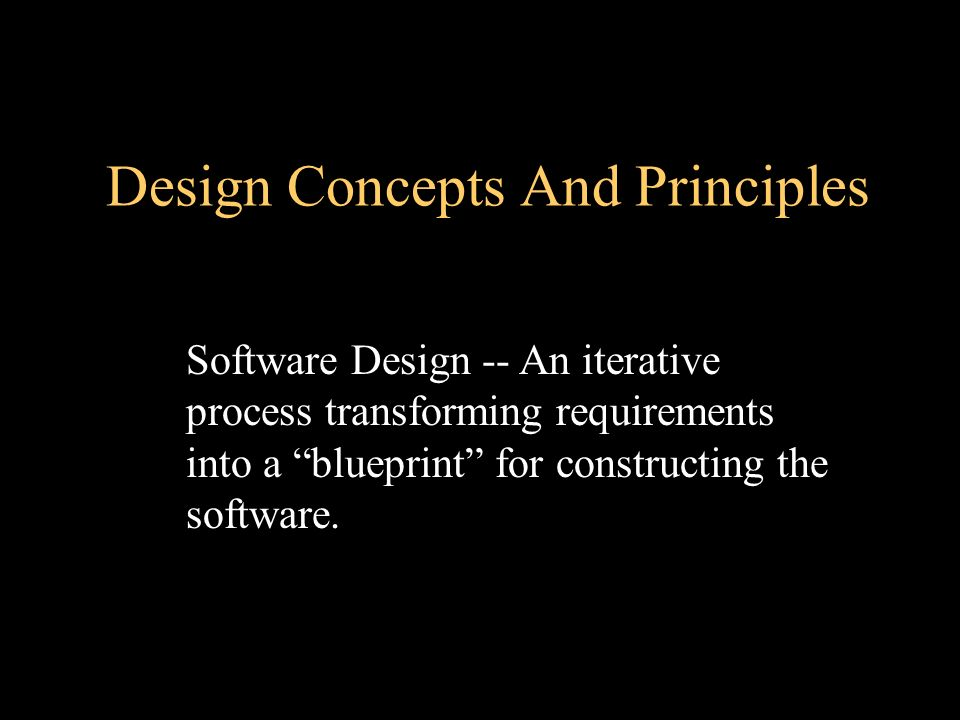 Chapter 13 Design Concepts And Principles Software Engineering A Practitioner S Approach 5 E Ppt Download