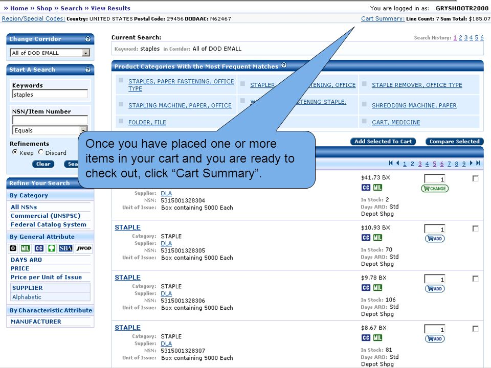 55e4d3b51b 2 Once you have placed one or more items in your cart and you are ready to  check ...