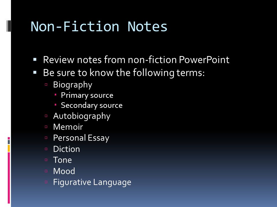 Fiction/nonfiction subject vs. Author power point presentation | tpt.