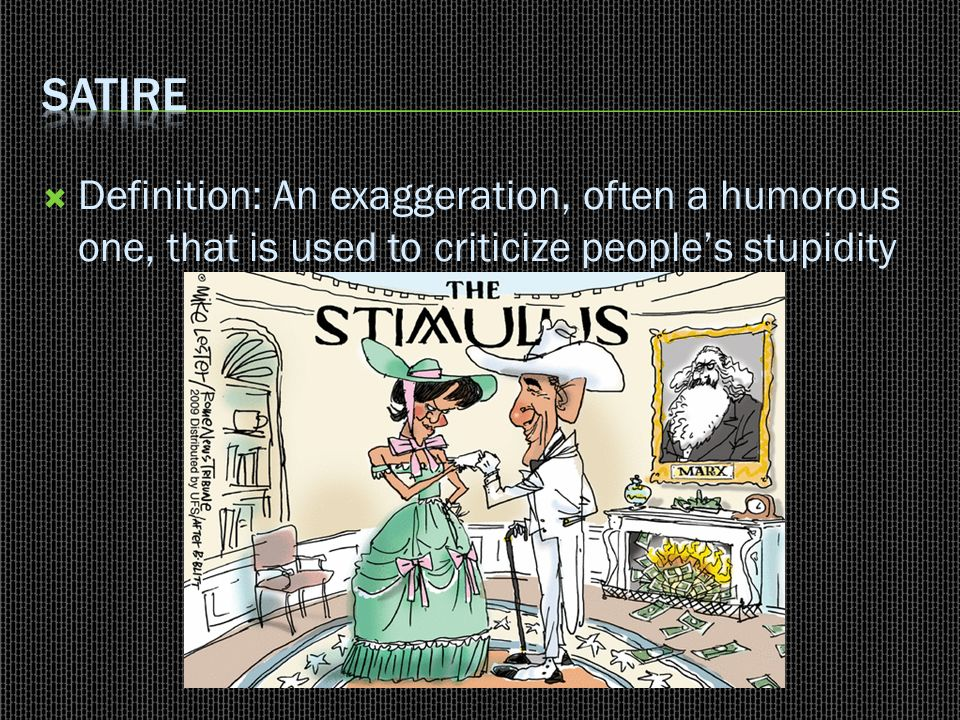 John Gardner,  Review the techniques of satire, allusion, and