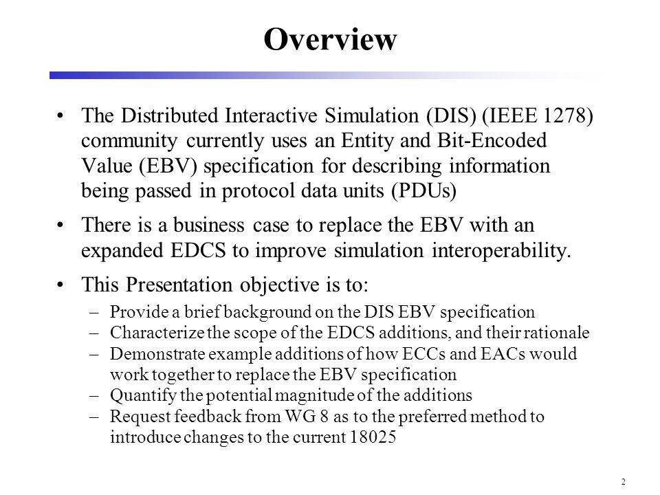 Enumeration and Bit encoded Values for use with IEEE 1278.1