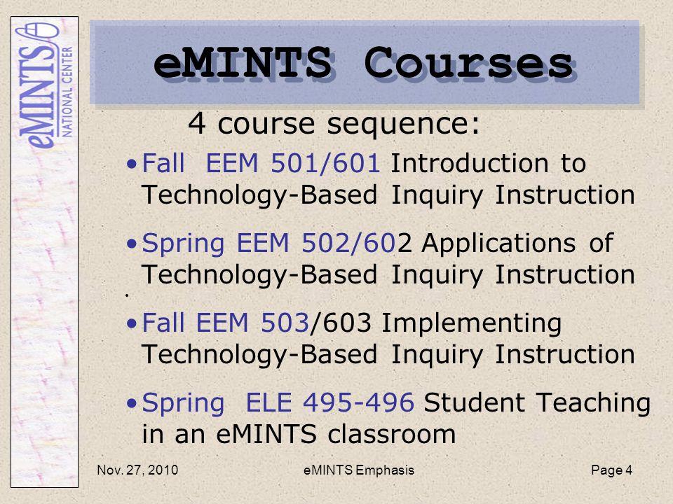 Elementary Teacher Preparation Instructional Technology Emphasis