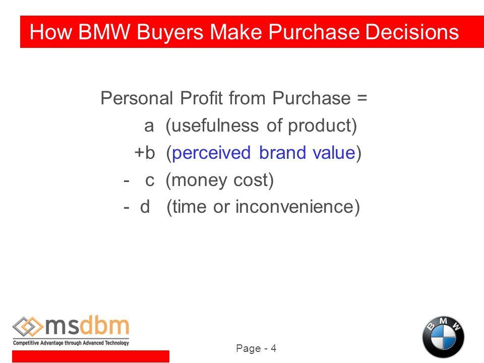 bmw distribution channels