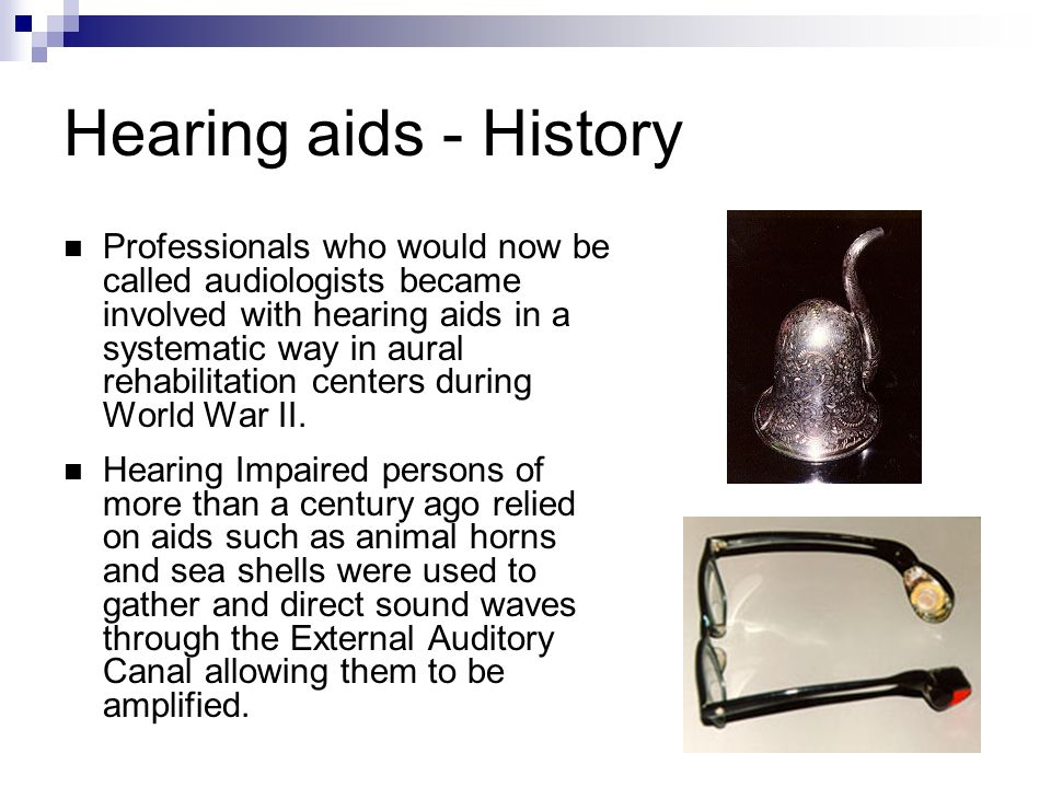Hearing Amplification  Hearing loss due to Inner ear