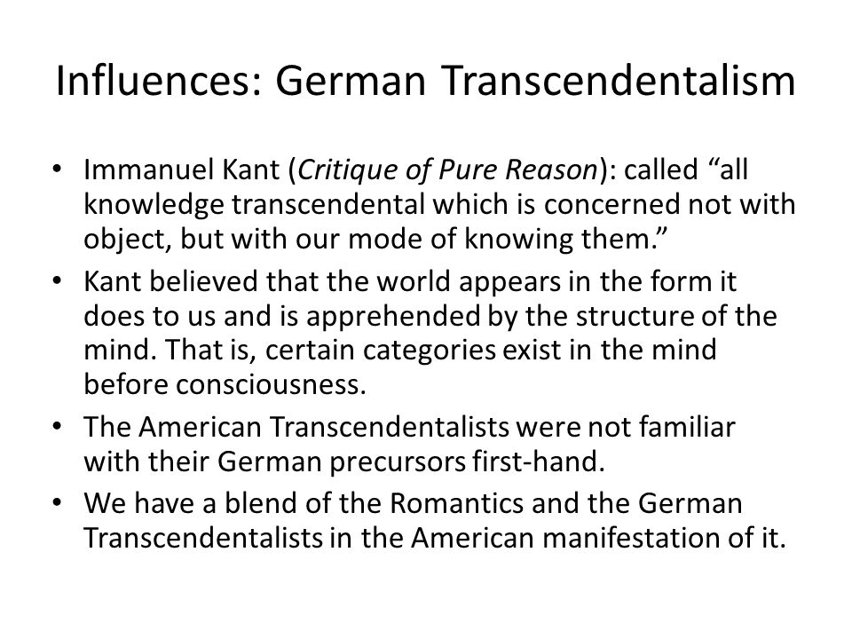 the relationship between romanticism and transcendentalism essay Romanticism and transcendentalism 1 early american attitudes toward nature and wilderness (a recap) 2 romanticism (for more details, see nash, chapter 3) a literary, artistic, and philosophical movement (flourished late 18th and early 19th cent) b reaction against the.