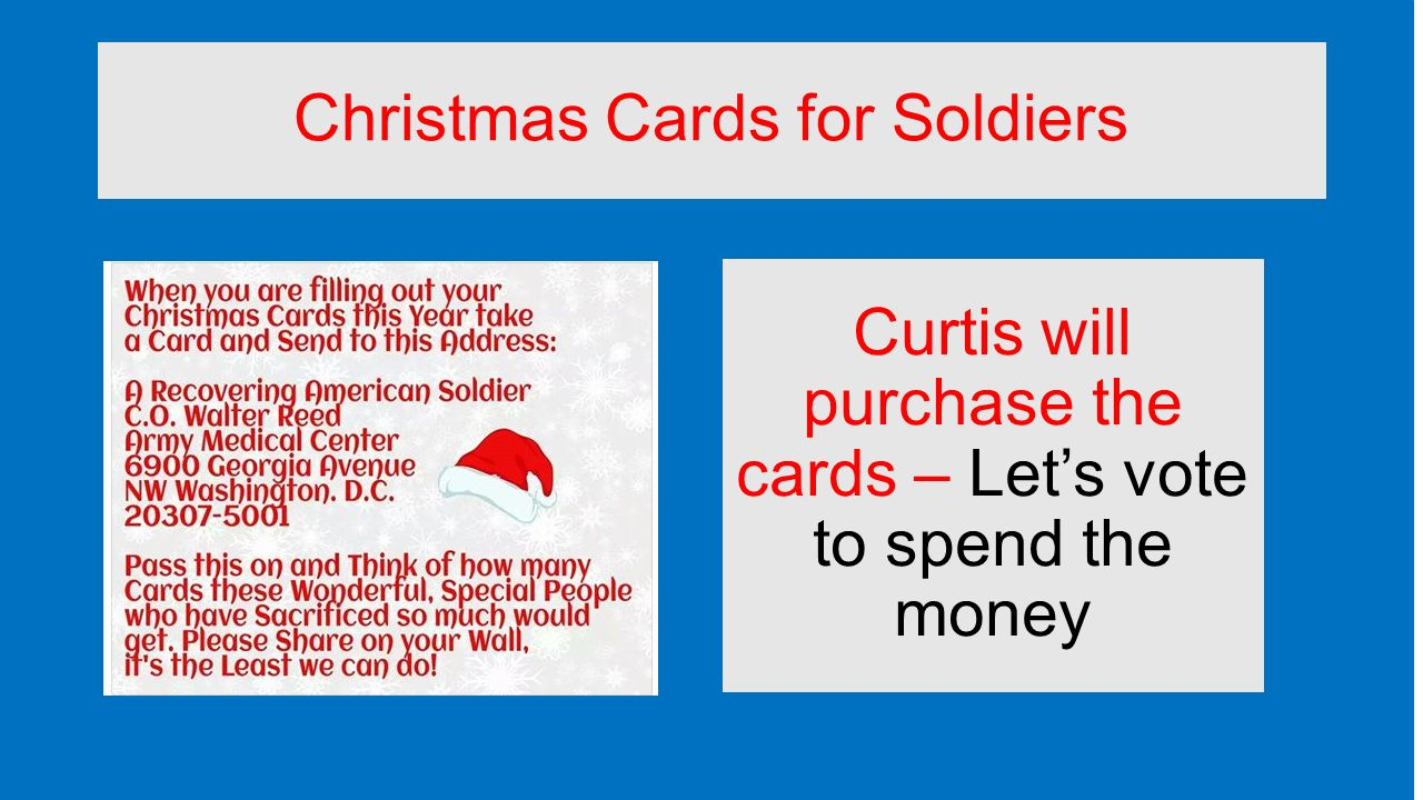 Recovering American Soldier Christmas Cards. christmas cards a ...