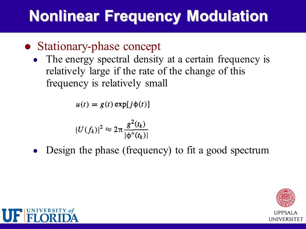 Radar Signals Tutorial 3 Lfm Coherent Train And Frequency Coding Modulation Fm Electronics Modulator 21 Nonlinear