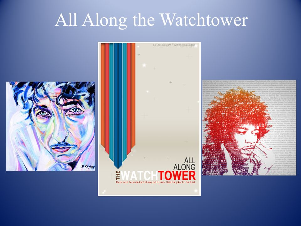 All Along the Watchtower  Follow The Core of Today's Broken