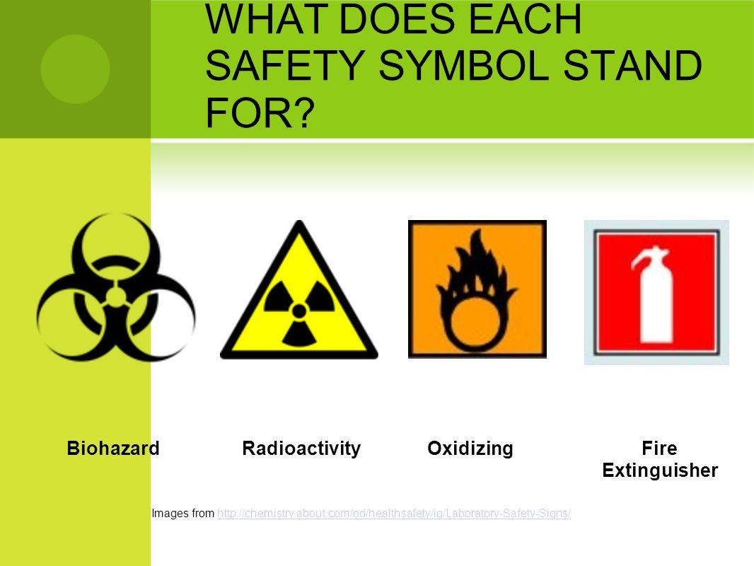 Science Safety Safety Symbols 8 Th Grade Science Brookville