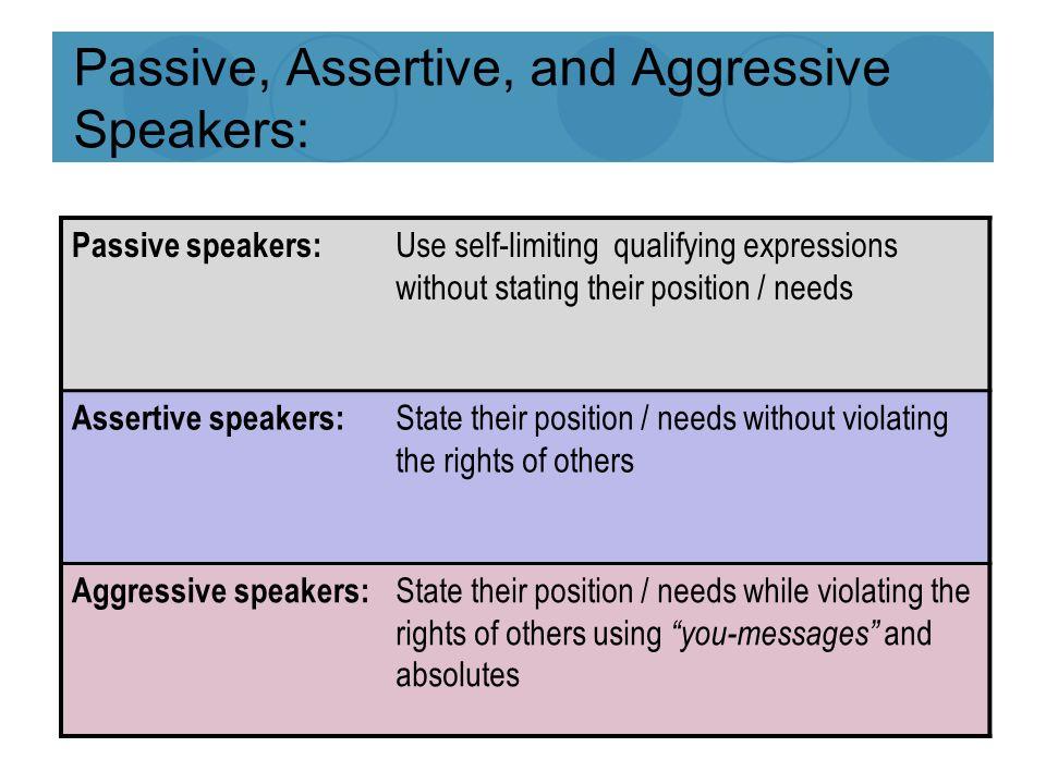 How to overcome passive aggressive behaviour