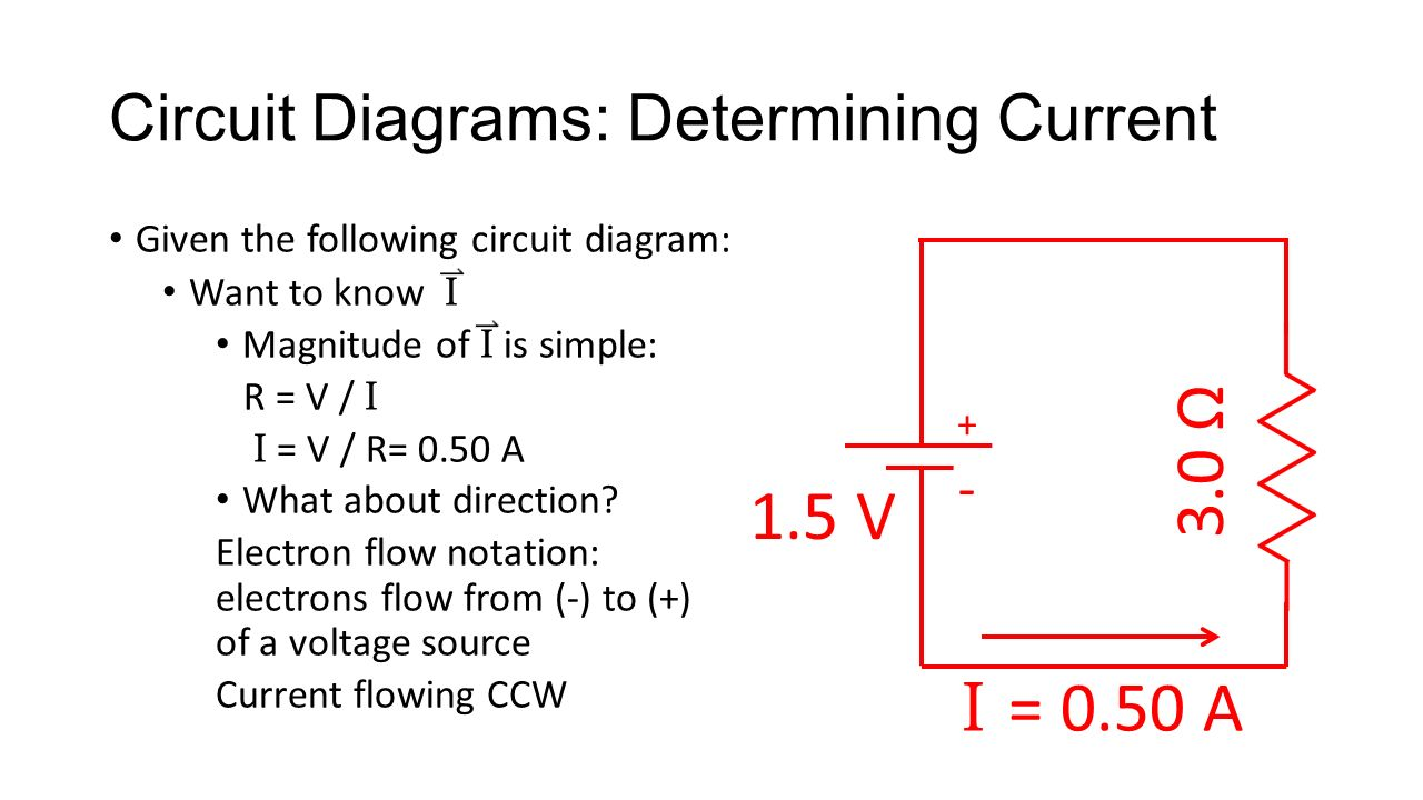 Parts Of An Electric Circuit Recall A Is Closed Path Diagram Voltage Source 16 Diagrams Determining