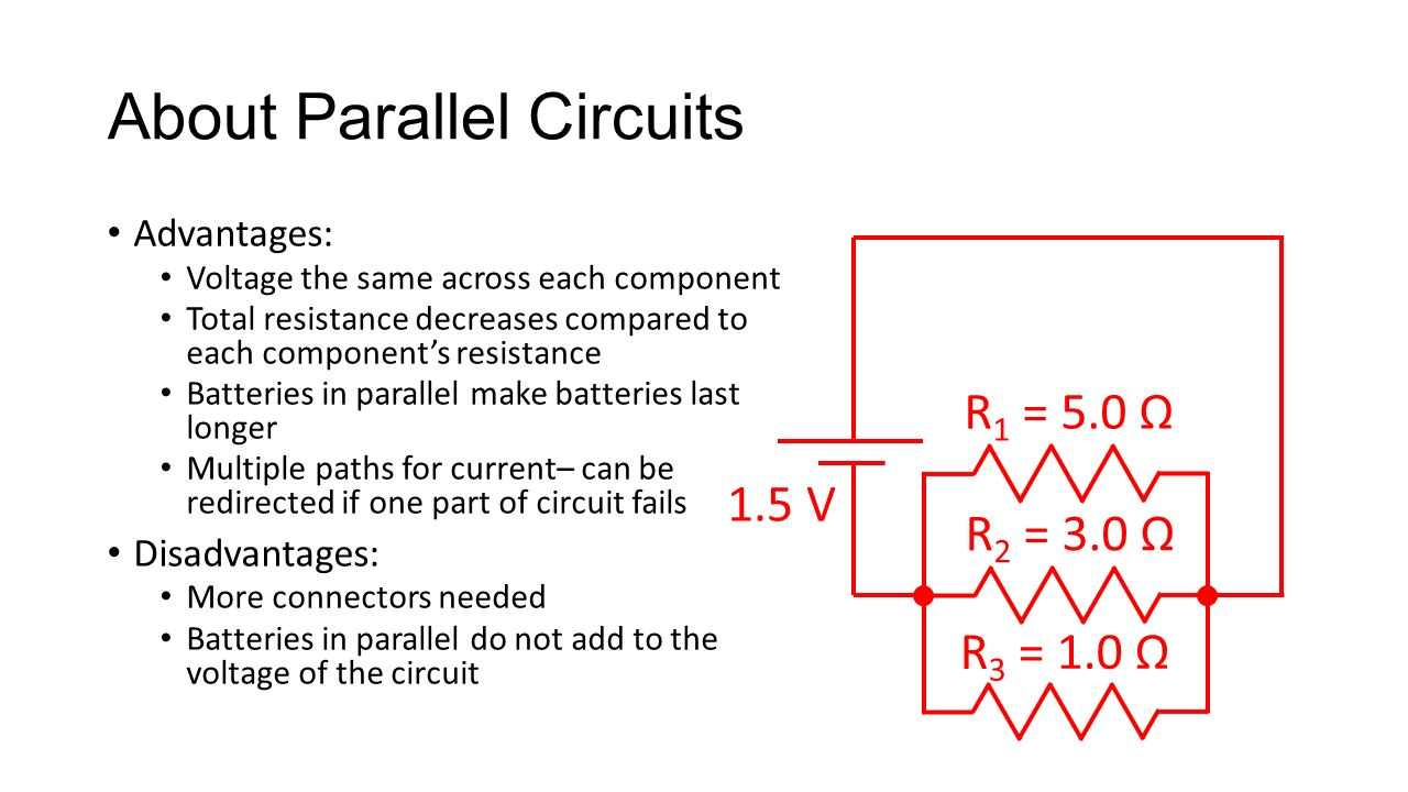 Parts Of An Electric Circuit Recall A Is Closed Path Make Parallel 29 About Circuits