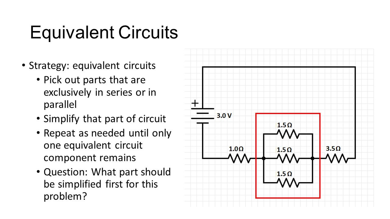 Parts Of An Electric Circuit Recall A Is Closed Path What 36 Equivalent