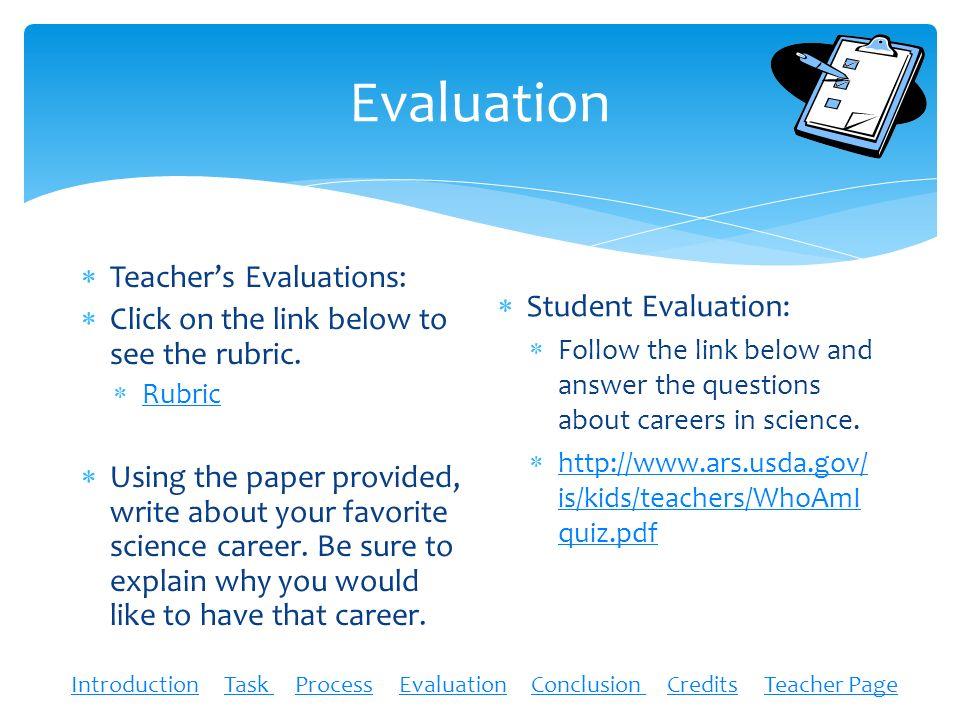 Science Careers WebQuest by Kendra Crocker