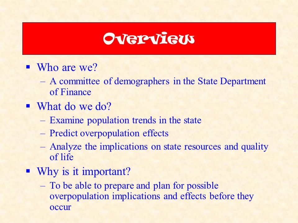 california overpopulated
