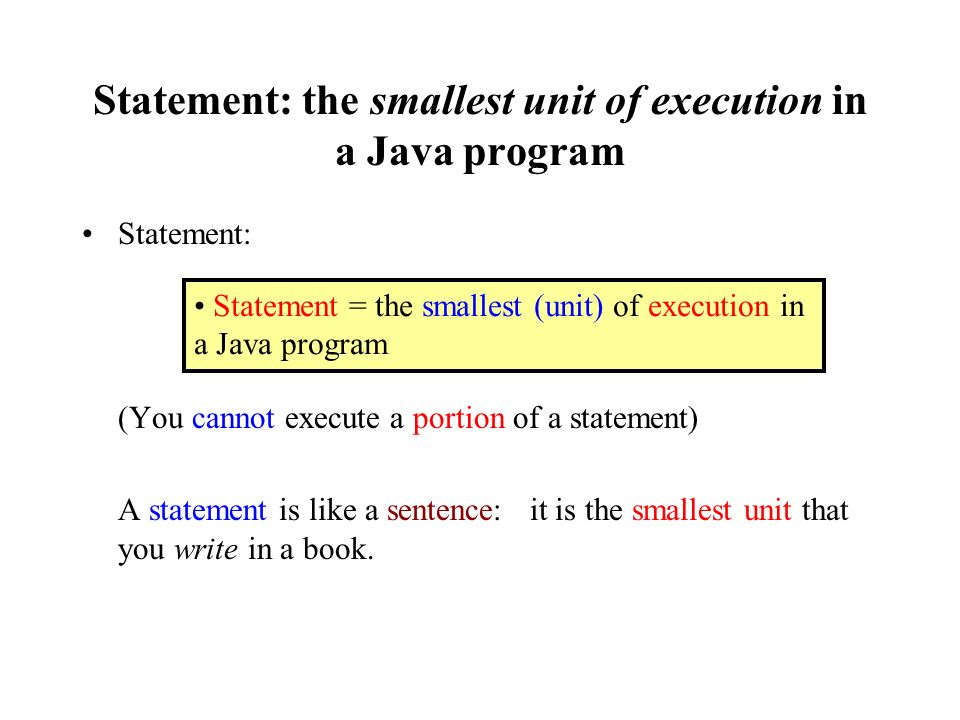 Introduction to programming in the Java programming language