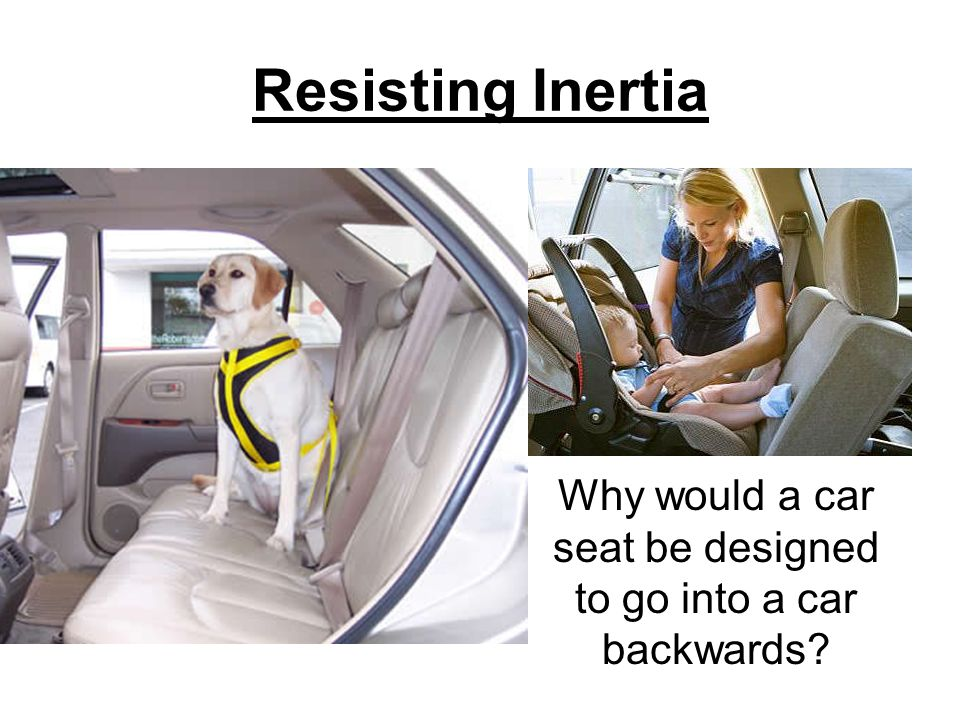 3 Resisting Inertia Why Would A Car Seat