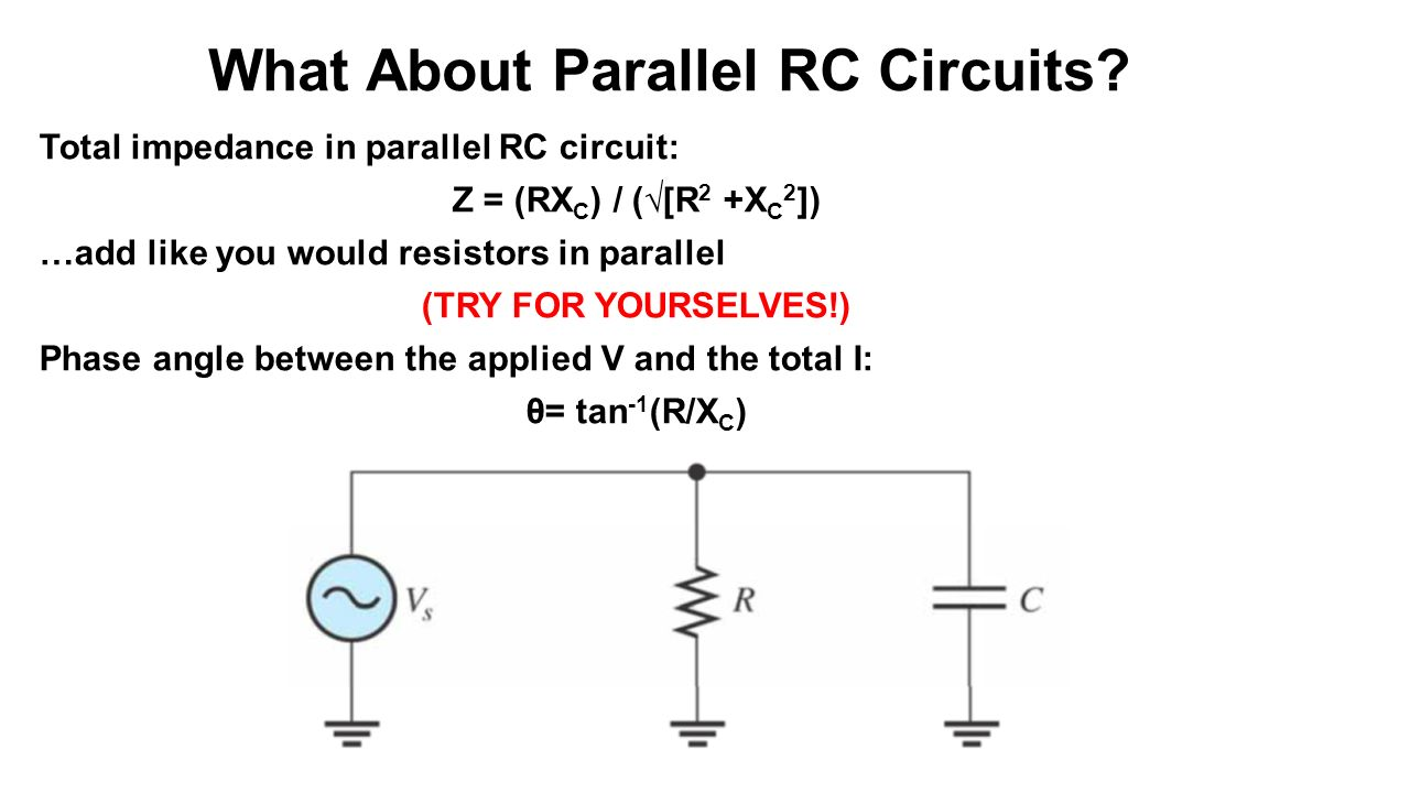 Magnificent Overview Of Impedance And Phases Of Rc Circuits For Ac Sources W Wiring Cloud Pendufoxcilixyz