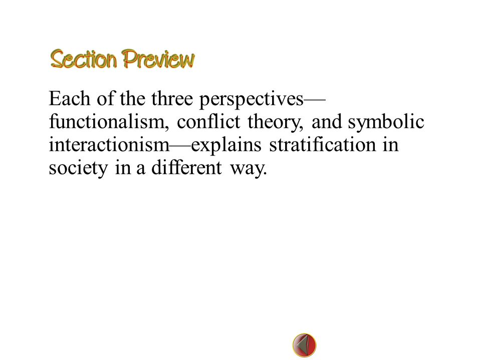 difference between conflict theory and functionalism