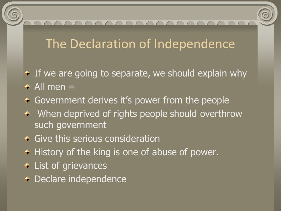 to some people the declaration of independence still accurately reflects america s political philoso This autobiography, all on its lonesome, might be the means of converting some people to the freedom philosophy that is, all of our arguments, all of our evidence, might fail,  the 60s had been and gone and still people  hayek left the lse largely to write on political philoso- phy in america indeed, at the university of chicago he was.