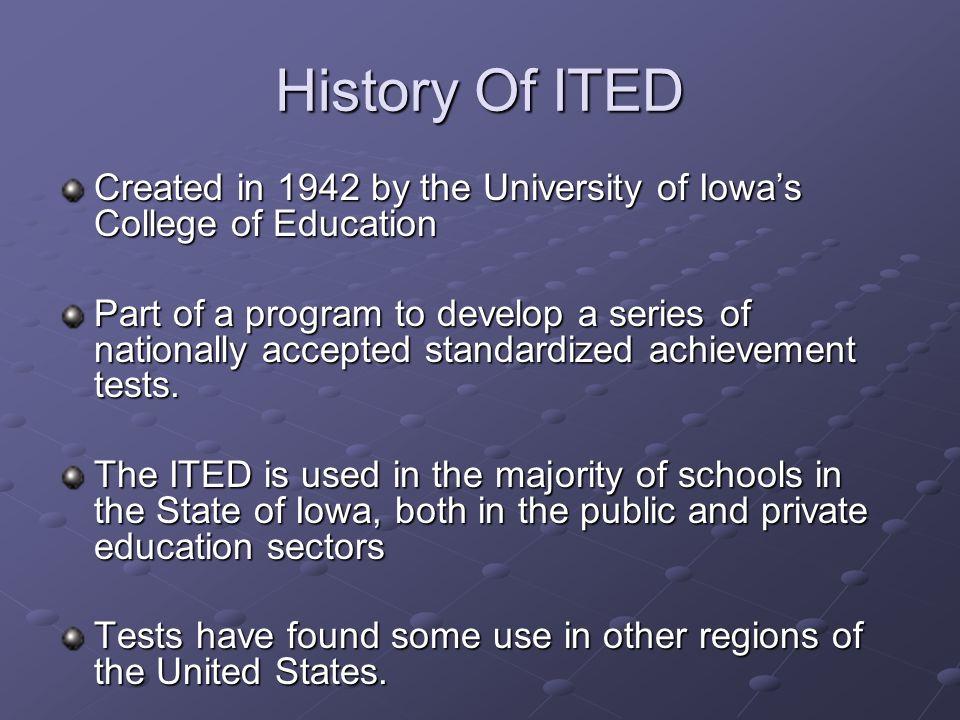Iowa Test For Educational Development Todd Bauer Lynn