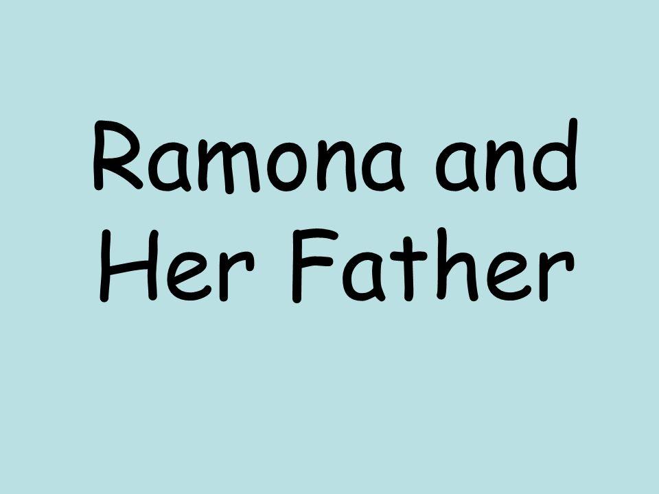 Ramona and Her Father  anxious anx-ious adjective Anxious