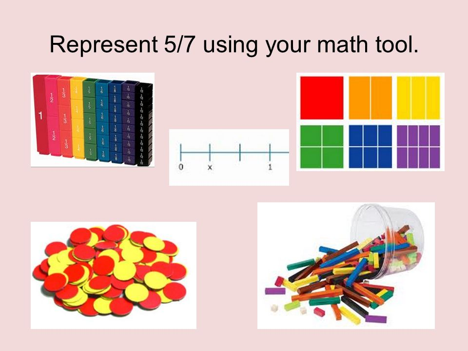 the transition quarter 4 math module represent 5 7 using your math
