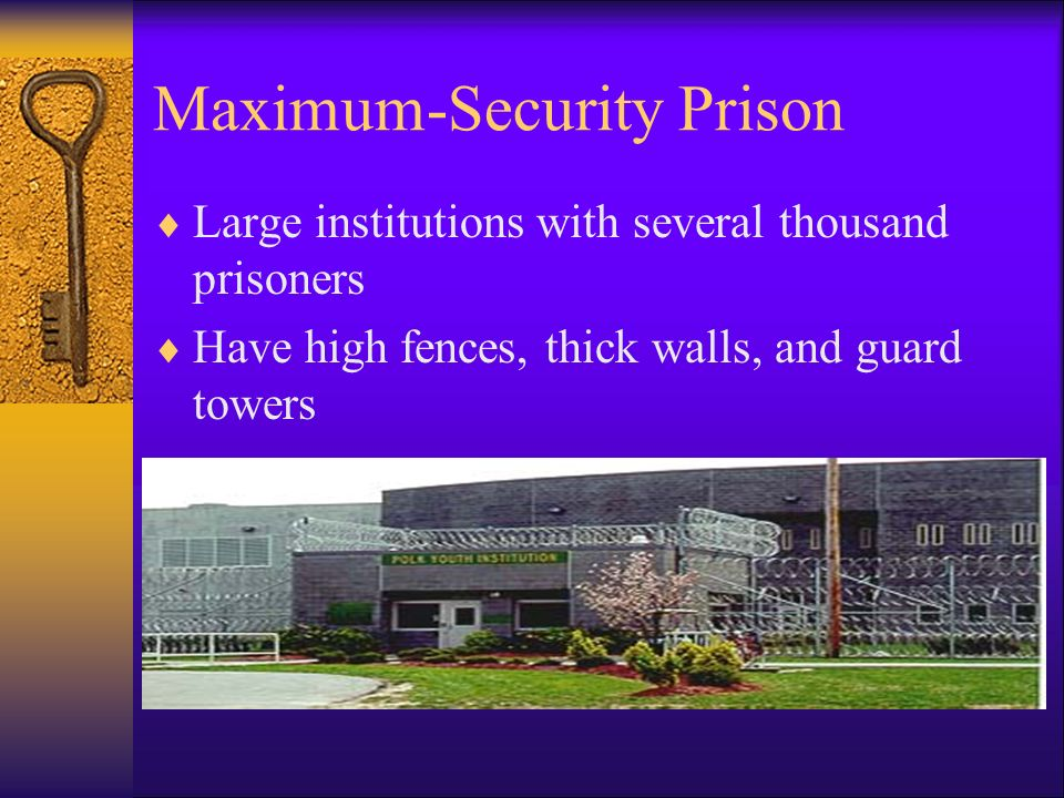 maximum security prisons essay Basically, prison privatization means the transfer of prison functions from the government sector to the private sector by using the private sector to build or manage prisons, many states believe that they can reduce costs.