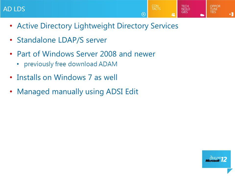 How to edit the active directory using adsi edit - redmondmag. Com.