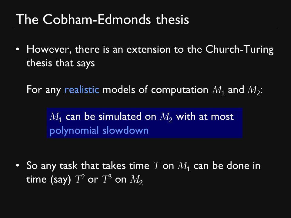 cobham edmonds thesis