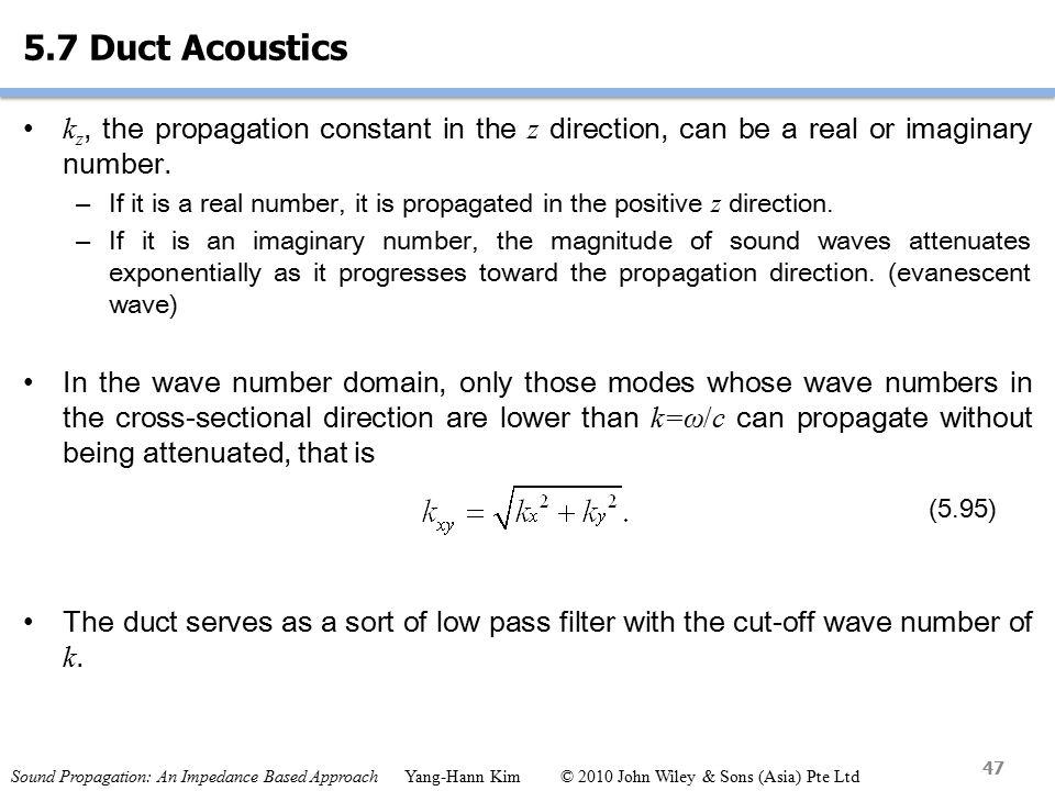 Sound Propagation: An Impedance Based Approach Yang-Hann Kim