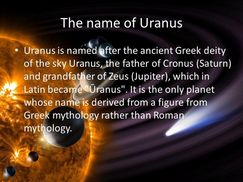 Planet Research Project Uranus By Yu Xin Symbol Of Uranus Ppt