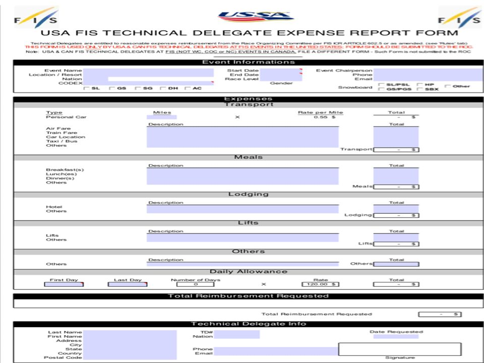 canadian expense reports the revenue and expense system for