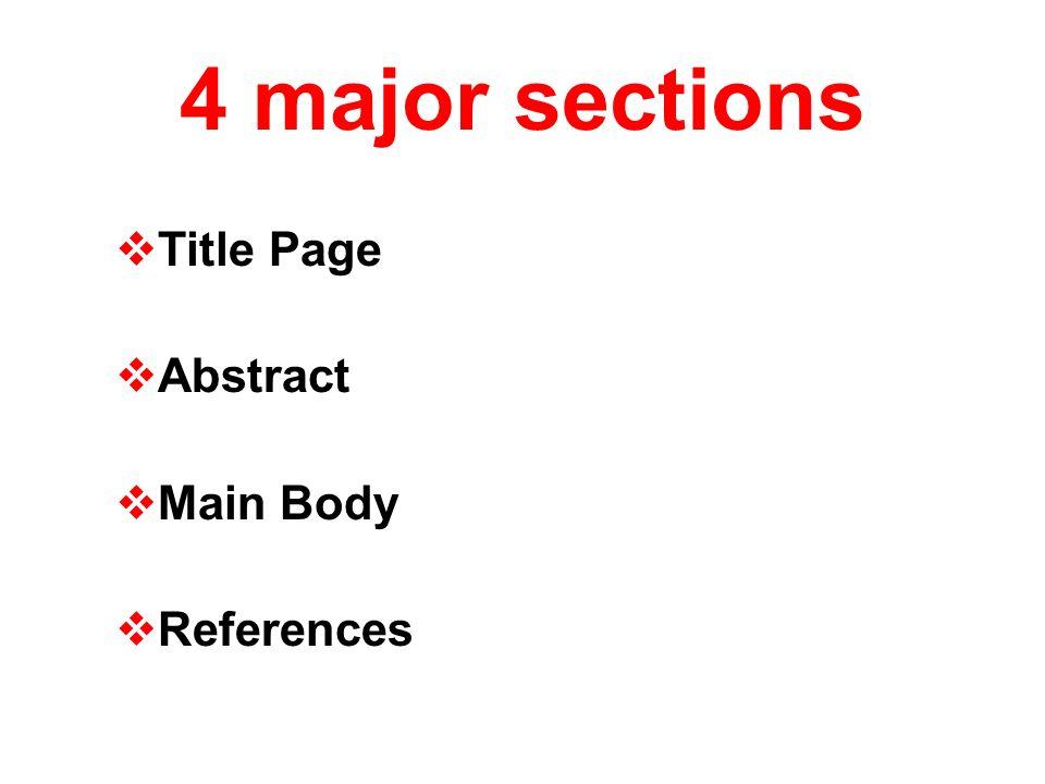 sample apa research paper