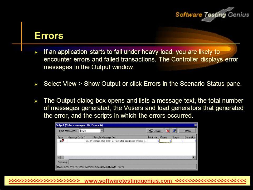 How to Run a Scenario In HP LoadRunner