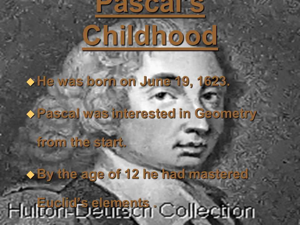mathematician pascal biography