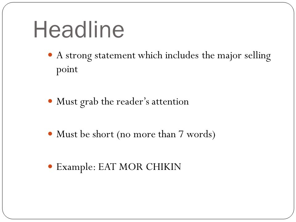 graphic about Eat Mor Chikin Printable Sign identified as Areas of a Print Ad. Print Commercials \u201cGet