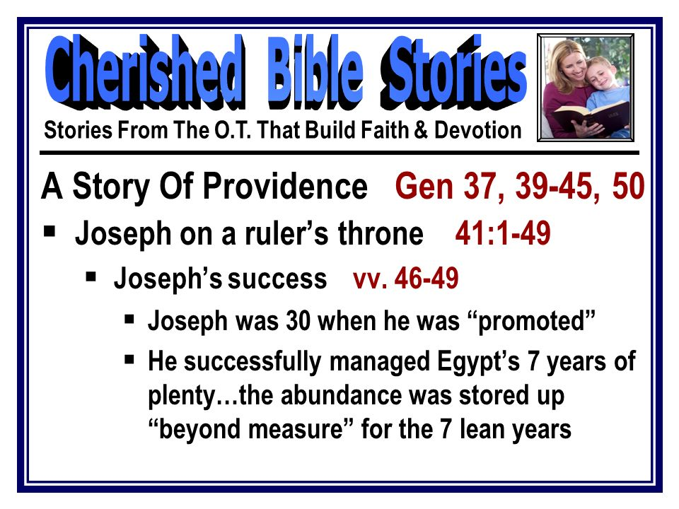 Stories From The Old Testament That Build Faith & Devotion