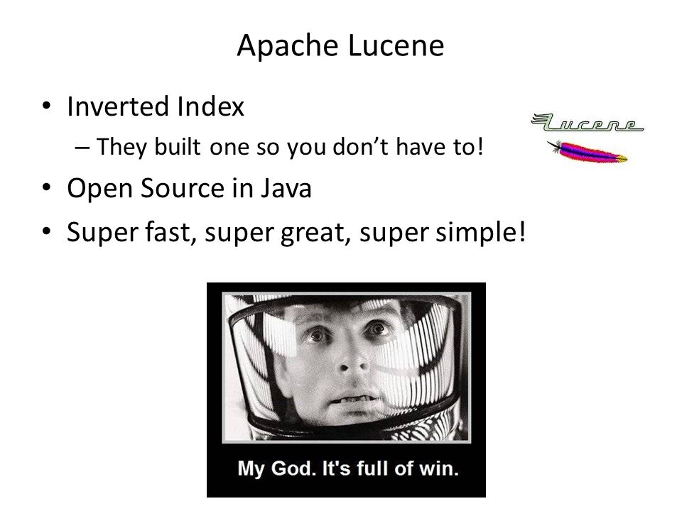 Wiki Search  Un Motor de Búsqueda Apache Lucene Inverted