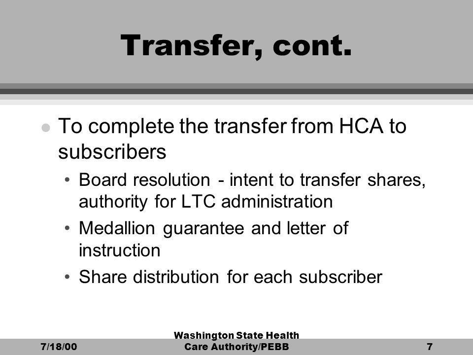 71800 washington state health care authoritypebb7 transfer cont