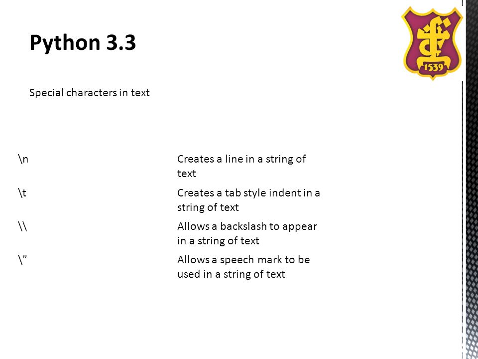 Lesson 6  Python 3 3 Objectives  In this lesson students
