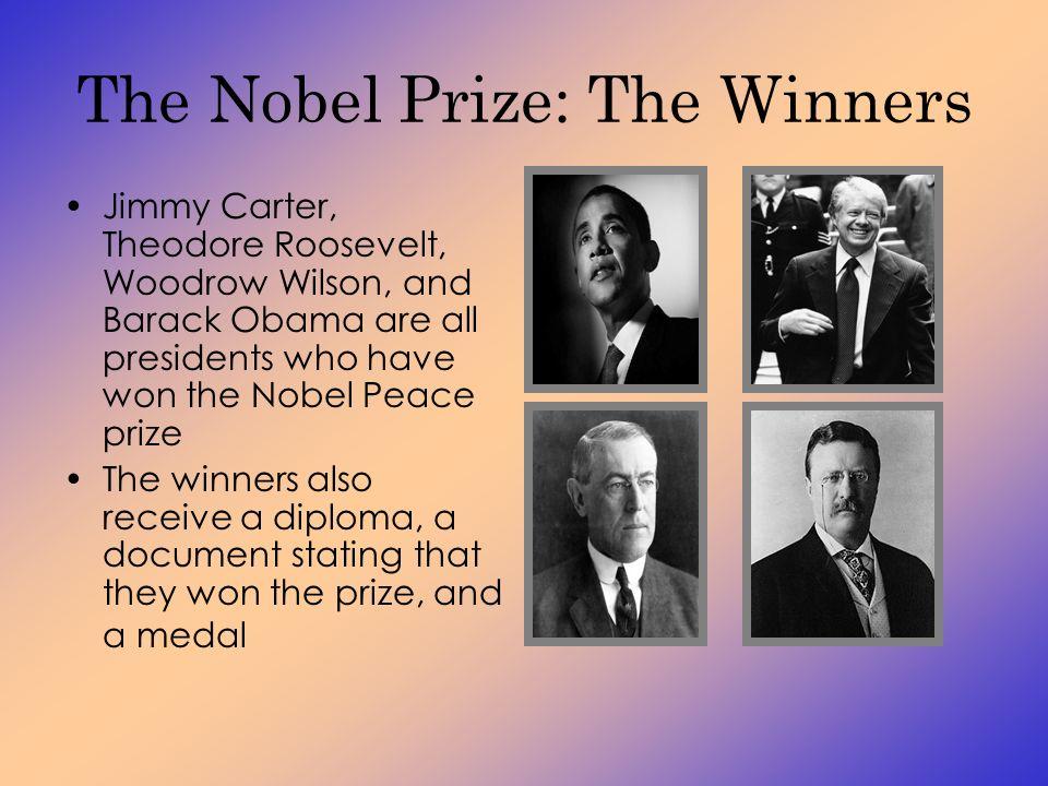 woodrow wilson nobel peace prize