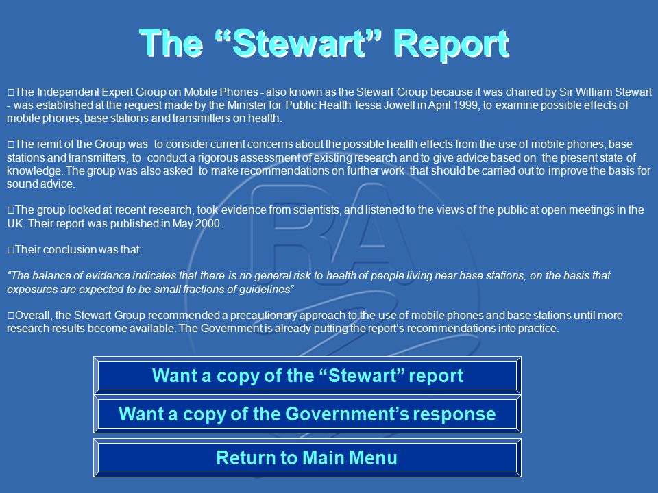 Mobile phones and health information the stewart report ras role 3 the ccuart Image collections