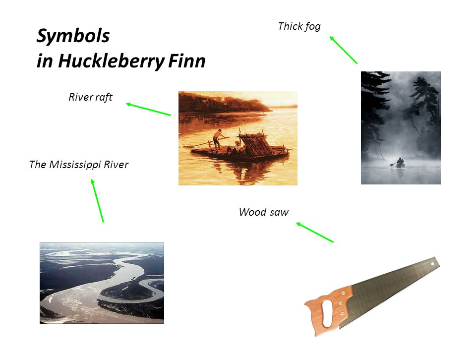 the symbolism used in huckleberry finn by mark twain The adventures of huckleberry finn : critical controversies by twain, mark and a great selection of similar used, new and collectible books available now at abebookscom.