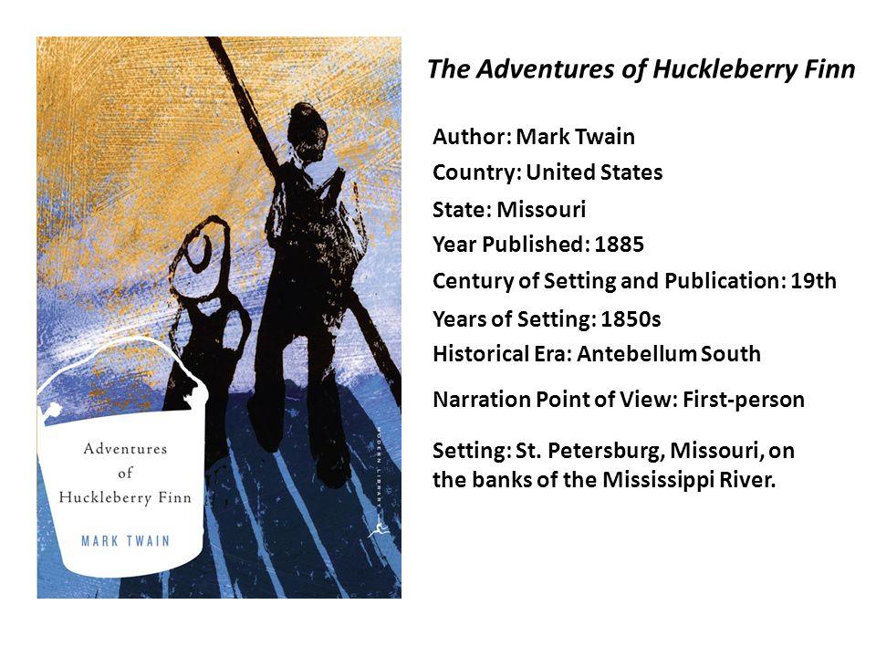 historical background of huckleberry finn