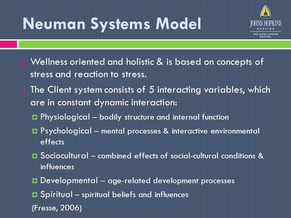 6 neuman systems model